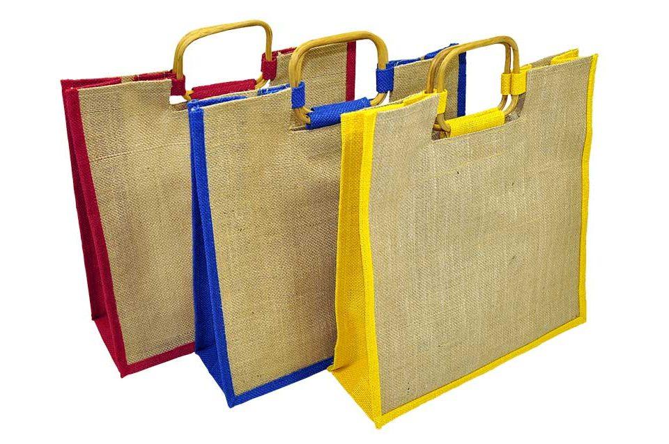 Jute carrier bags