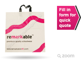 Flexi Loop Handle Plastic Carrier Bags